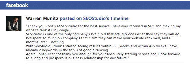 Warren Munitz posted on SEOStudio's timeline - rjrossouw@gmail.com - Gmail
