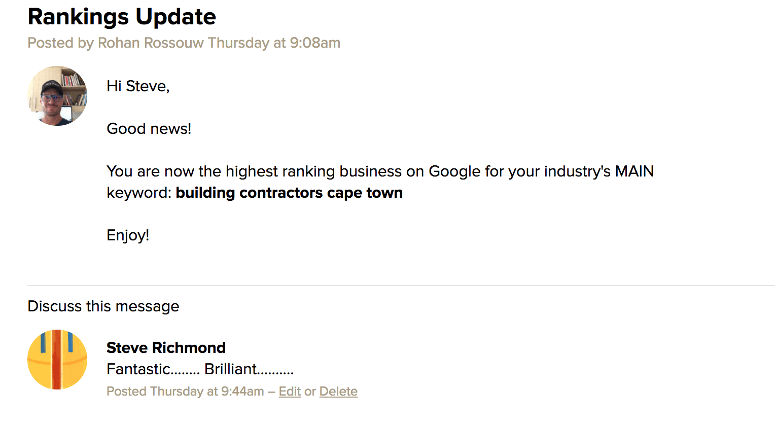 Another Top Position - Building Contractors In Cape Town